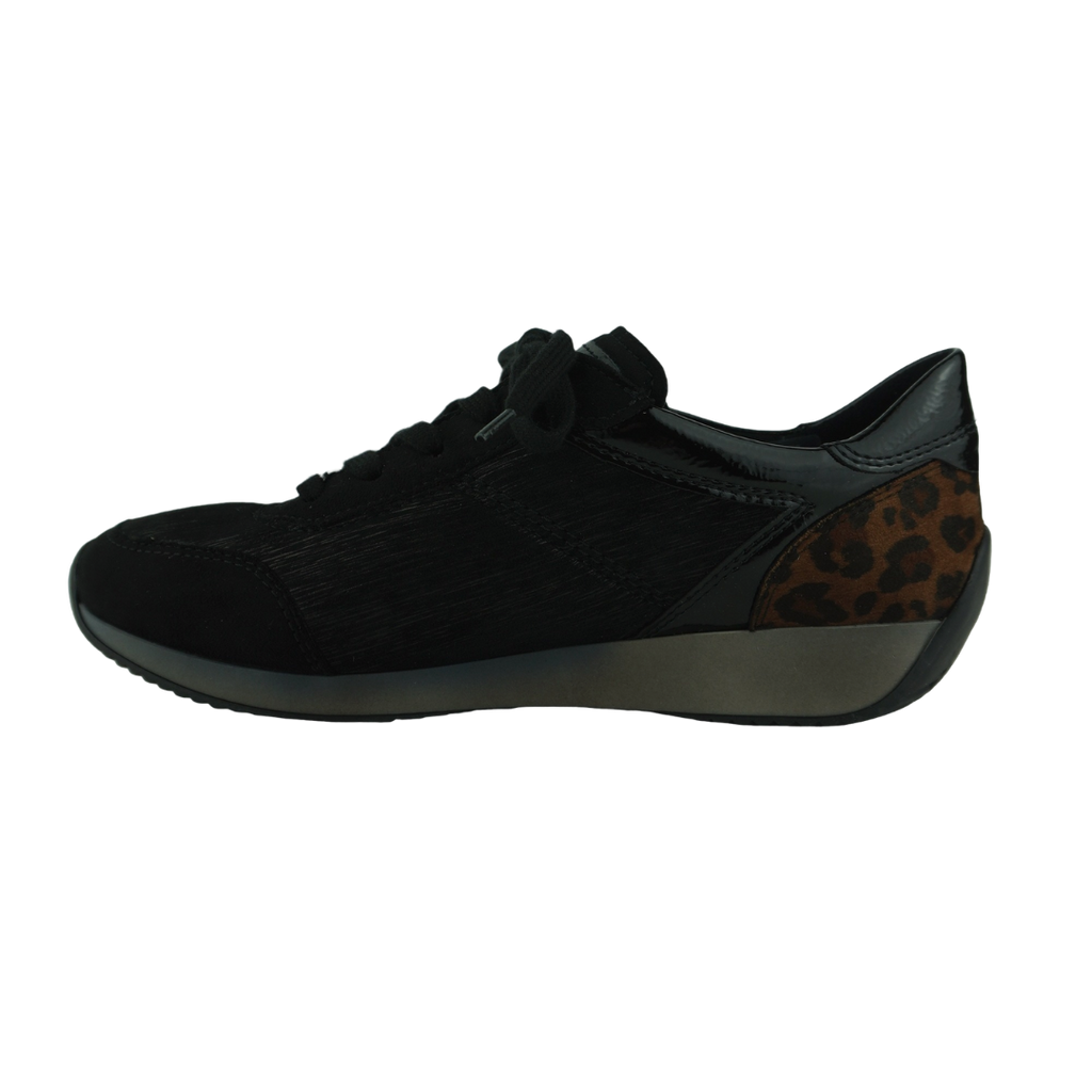 Ara 44050 Black Leopard Sneakers