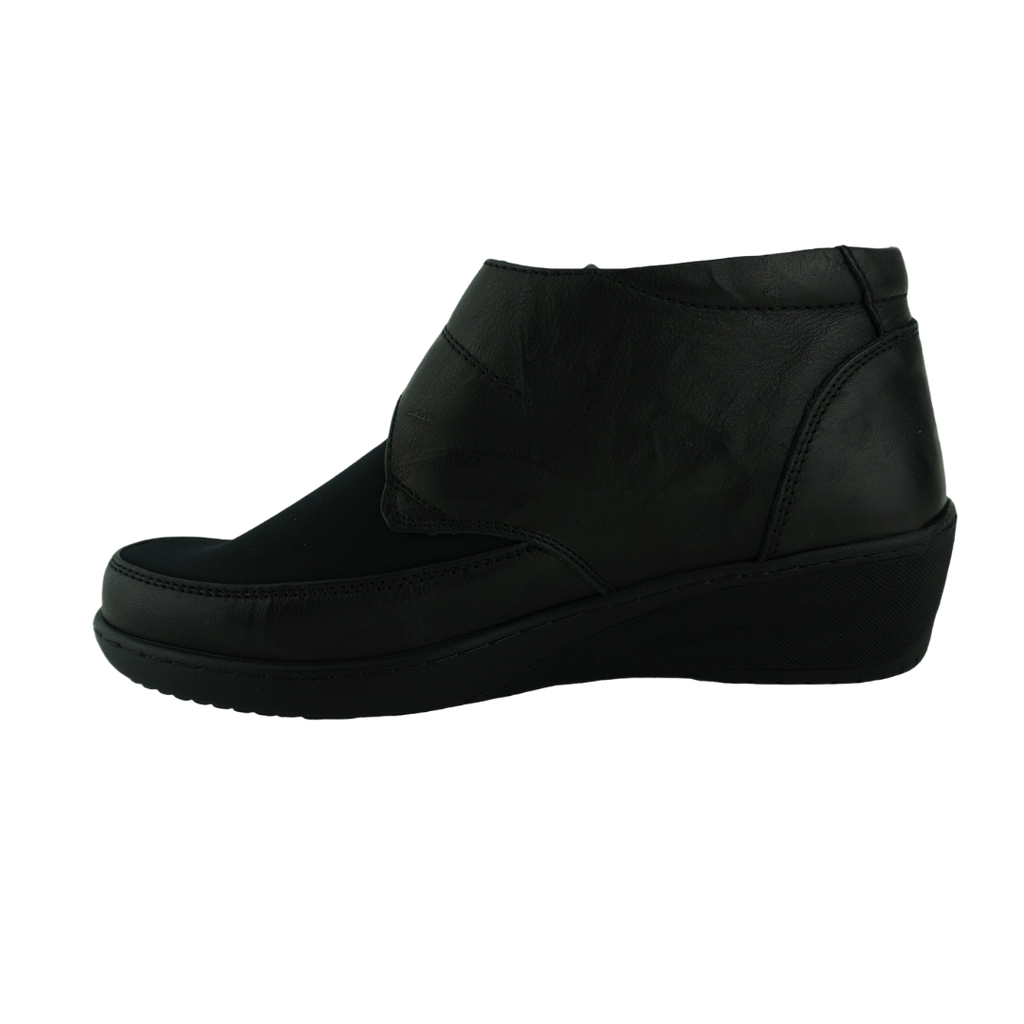 Cabello CP245-18 Black Leather Comfort Work Shoes