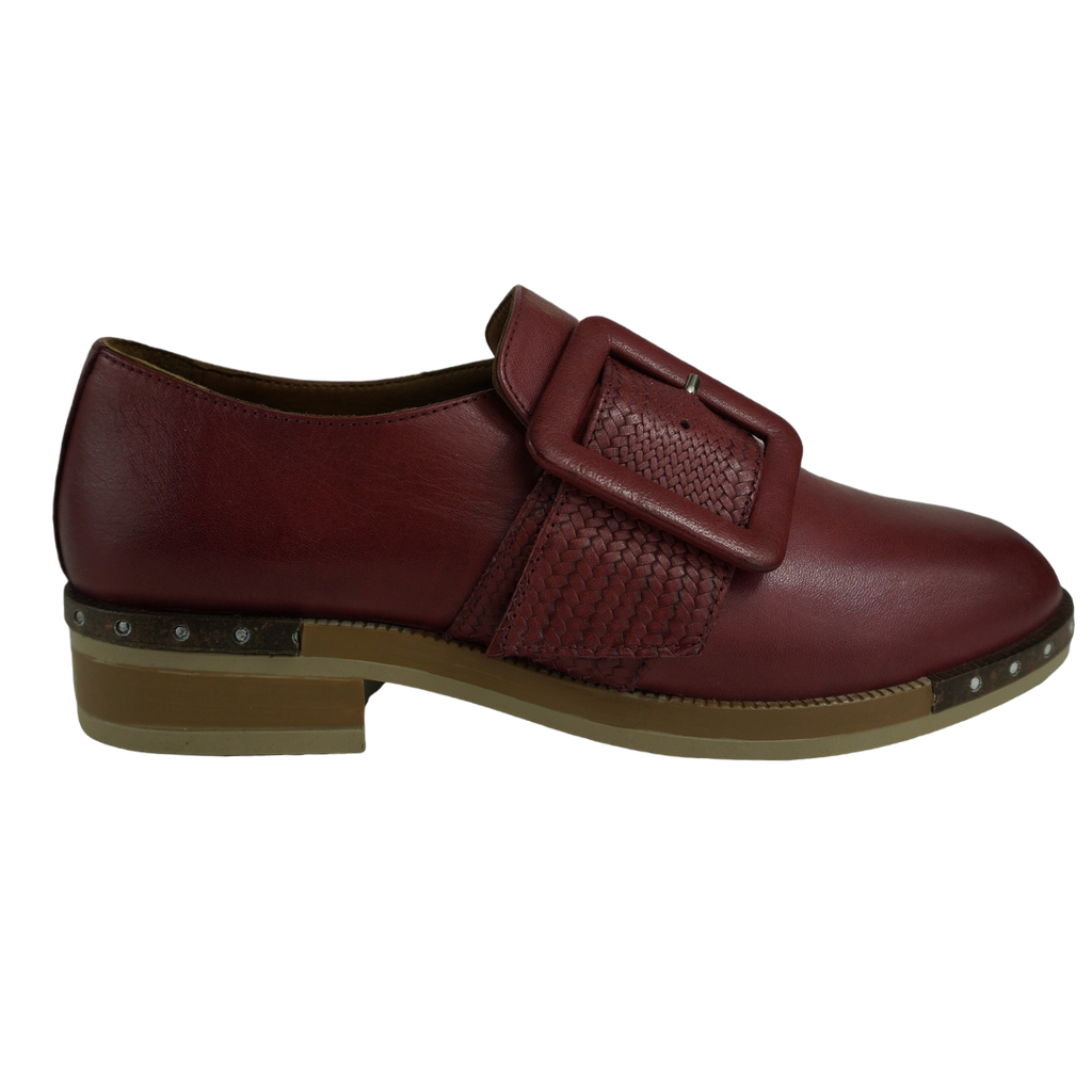 Bueno Game Airlift Coconut Leather Brogues
