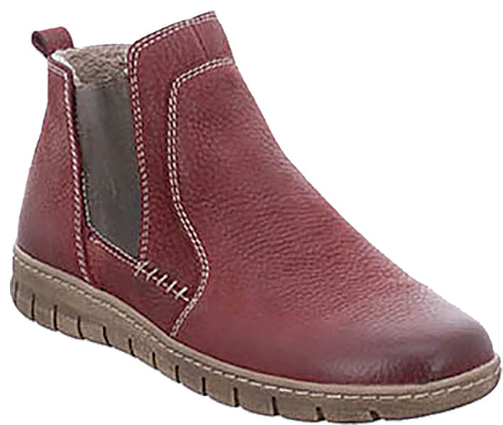 Josef Seibel 93149 Bordo Leather Ankle Boot