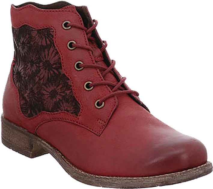 Josef Seibel 99679 Bordo Leather Ankle Boot
