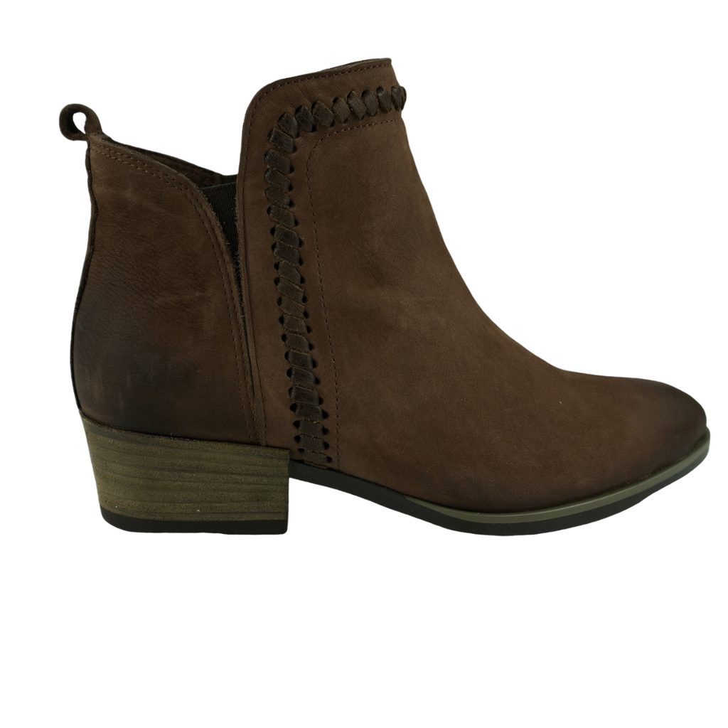 Bueno Lisa Praline Leather Ankle Boots