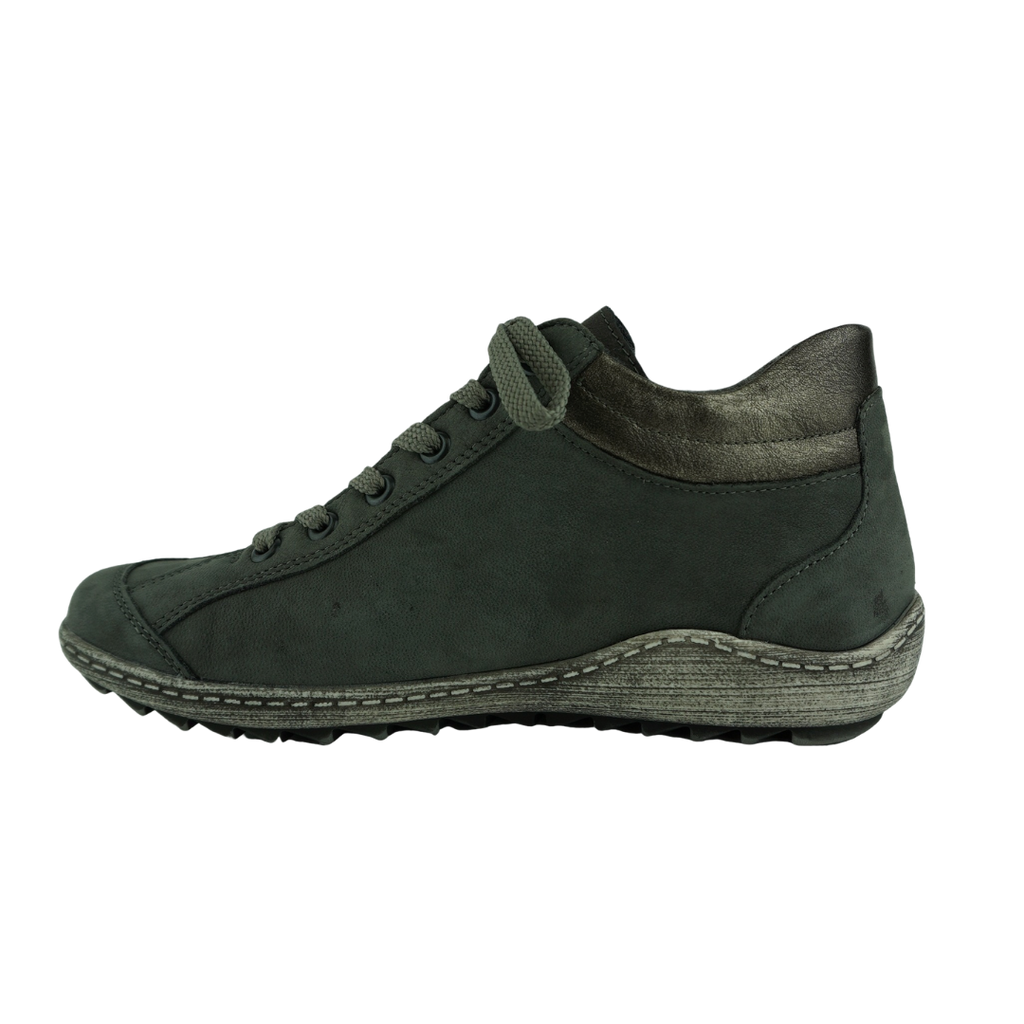 Rieker R1483 Steel Leather Sneaker