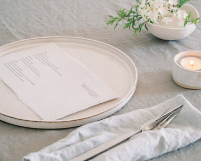Find the perfect menu card style for your occasion – and get a beautiful freebie