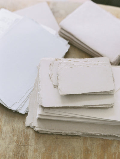 HOW YOU STORE HANDMADE PAPER
