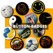 Button Pin Badges