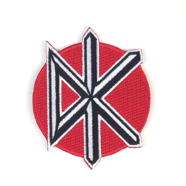 Dead Kennedys Logo Embroidered Patch