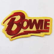 David Bowie Logo Embroidered Patch