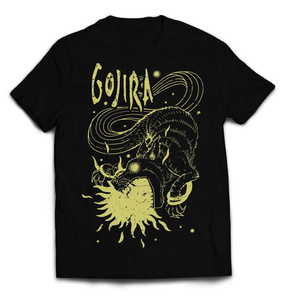 Gojira Sun Swallower  official Band tshirt  india