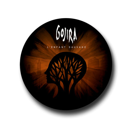 Gojira L'Enfant Sauvage Button Badgepin india