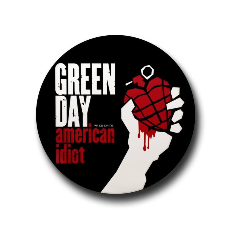 Greenday button badge
