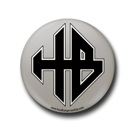 Headbangers Merchandise Logo badge pin india