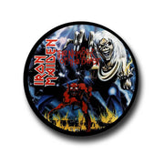Iron maiden The Number of the beast badge pin