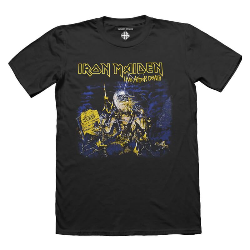 Iron Maiden life after death Tshirt