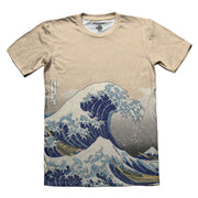 Great Kangawa Waves All Over Tshirt Front