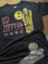 Led Zeppelin - The Hermit Tshirt Back