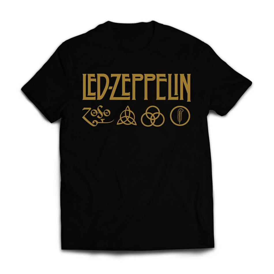 Led Zeppelin  Symbols Logo t shirt India