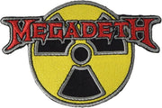 Megadeth Radioactive Nuclear Embroidered Patch