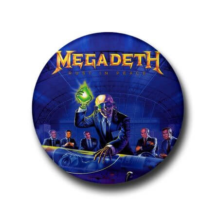 Megadeth - button badge