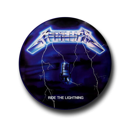 Metallica Button Badge + Fridge Magnet