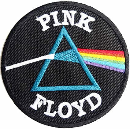 Pink Floyd Embroidered Patch