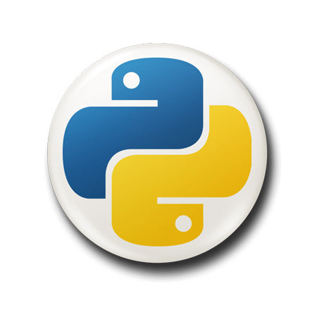 Python Button Badge