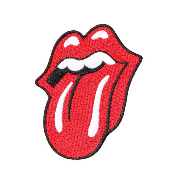 Rolling Stones Logo Embroidered Patch