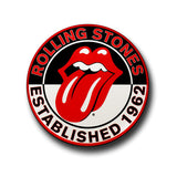 Rolling Stones Button Badge