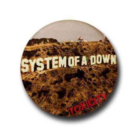 System of a down button badge
