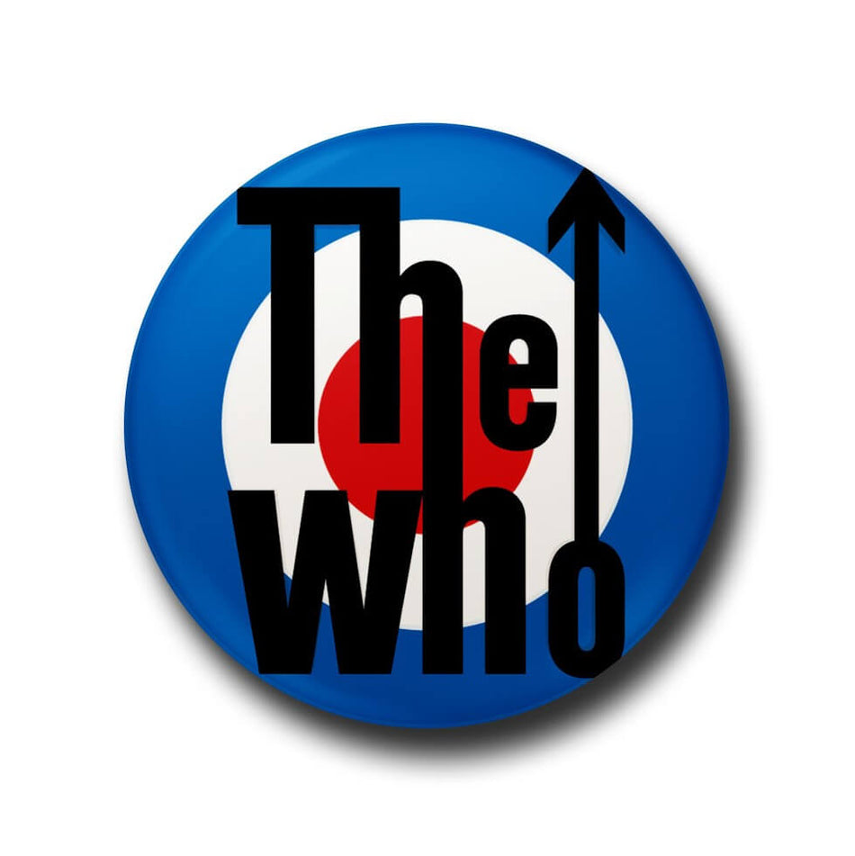 the who button badge