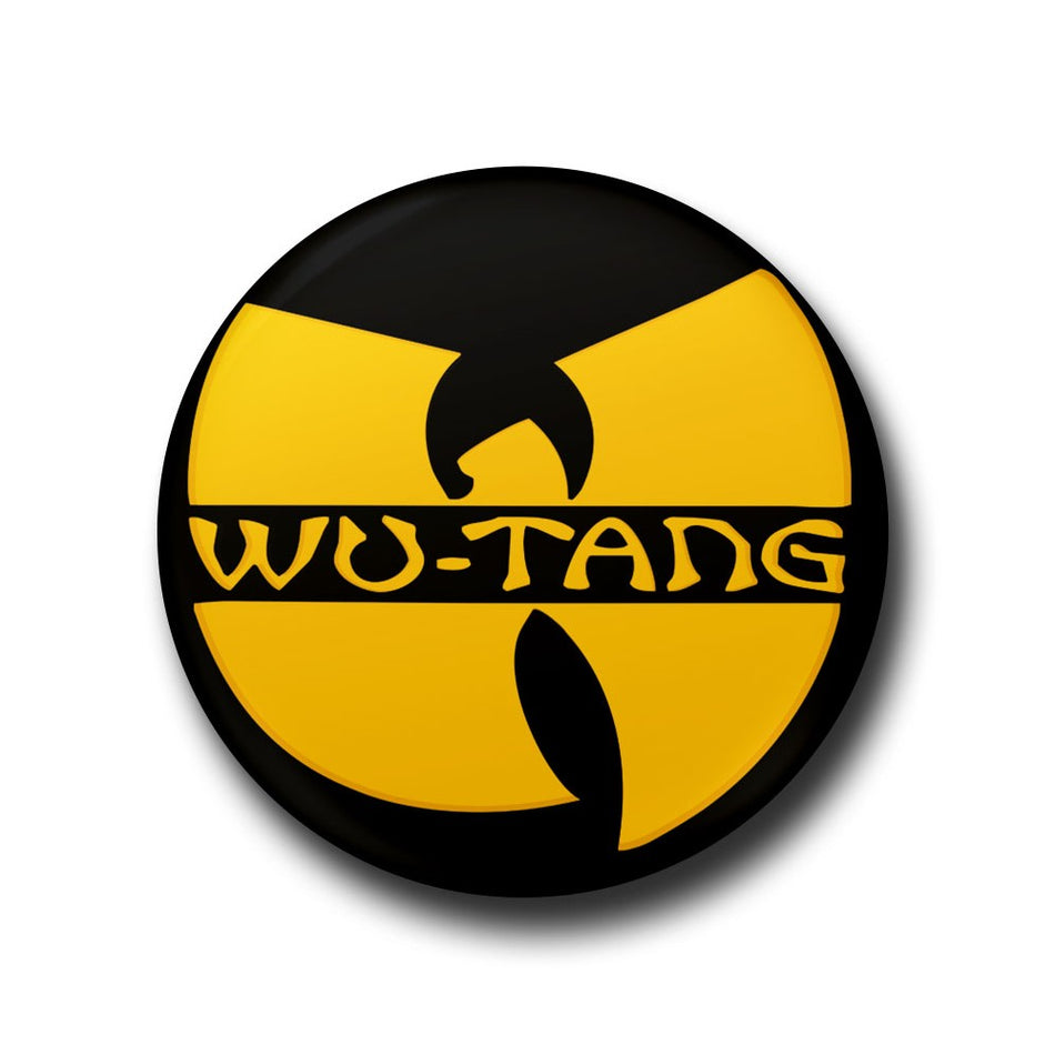 wu-tang clan button badge