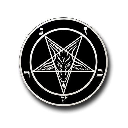 BAPHOMET GOAT BADGE PIN INDIA