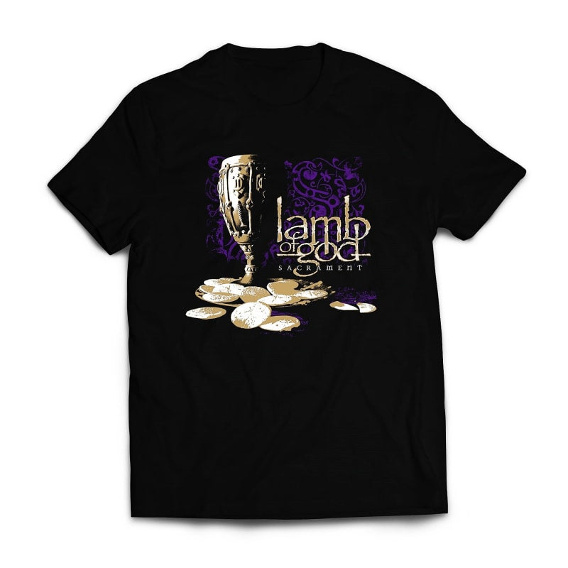 Lamb of god Sacrament Band Tshirt India