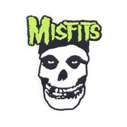 Misfits  Fiend Skull Logo Embroidered Patch