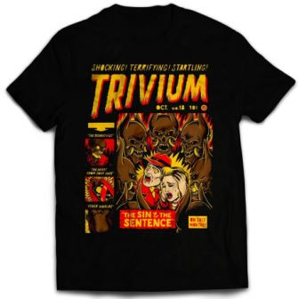 Trivium - The Haunting Official  Band T-shirt India