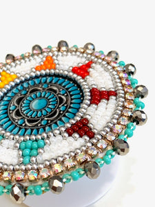 Beaded cellphone holder