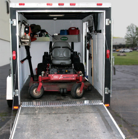Thus, Our Pit Products Team Identified Six (6) Storage And Loading  Accessories That Transformed LDu0027s Lawn Maintenance Trailer Into A Cleaner,  ...