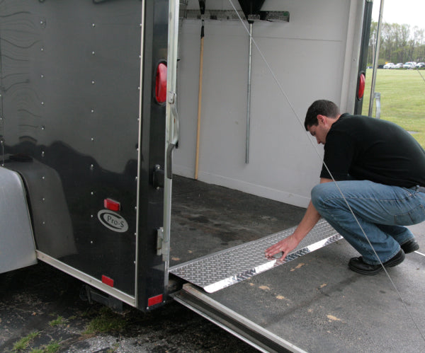 Slider Plates For Safe And Easy Trailer Loading Pit Products