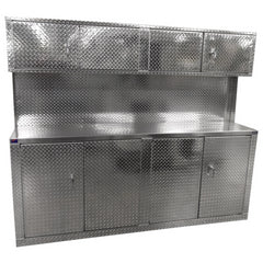 What Is A Cabinet Combo You Ask? A Pit Products Cabinet Combo Is When We  Take One Of Our Heavy Duty Diamond Plate Aluminum Garage Cabinets And  Combine It ...