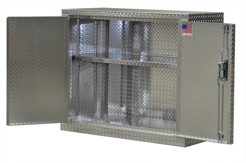 "Garage & Shop Base Cabinet - 4 Foot - Deluxe, (48""L x 40""H  x 22""D), Aluminum"