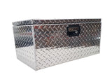 "Trailer Tongue Storage Box, (30""L x 12""H  x 12""D), Aluminum"