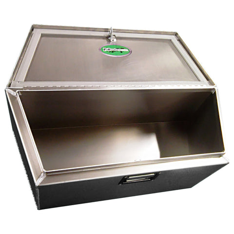 "Trailer Tongue Storage Box, (30""L x 12""H  x 12""D), Aluminum - SCRATCH N' DENT"