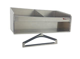 Trailer, Garage, or Shop Helmet Bay (Choose One, Two, Three, Four or Five Bays) - Aluminum