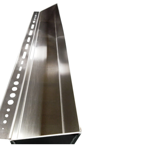 "Garage, Shop & Trailer Storage - Utility Shelf, Extra Large (48""L x 4 3/4""H x 4 1/8""D), Aluminum"