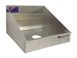 Rag-In-A-Box Dispenser - Aluminum