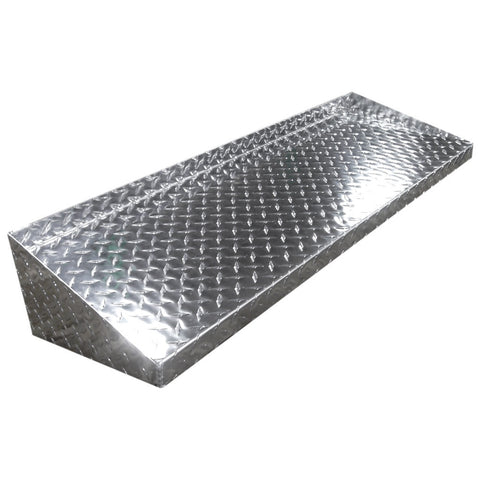 Diamond Plate Shelf - 4 Foot