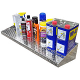 "Diamond Plate Shelf - (24"" to 35"") Choose your Length"