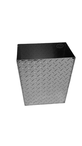 Trash Can - Small - Aluminum