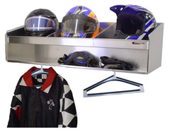 Trailer, Garage, or Shop Helmet Bay (Choose One, Two, Three, Four or Five Bays)