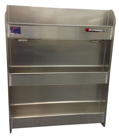 "Garage & Shop, Race & Work Trailer Aerosol Cabinet, (24""L x 30""H  x 4""D), Aluminum"